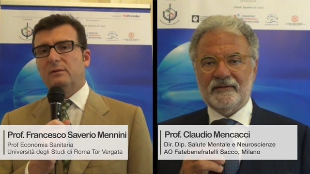 Carta Salute Mentale: Prof.Mencacci e Prof.Mennini