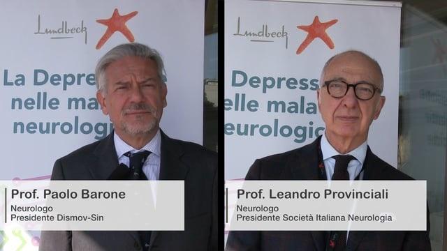 DEPRESSIONE NELLE MALATTIE NEUROLOGICHE: Intervista doppia Prof.Provinciali-Prof.Barone
